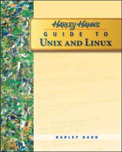 9780073133614: Harley Hahn's Guide to Unix and Linux