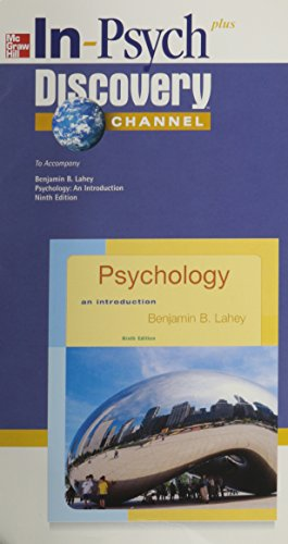 9780073133928: In-Psych Student CD-ROM to accompany Psychology