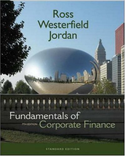 9780073134284: Fundamentals of Corporate Finance Standard Edition + S&P Card + Student CD
