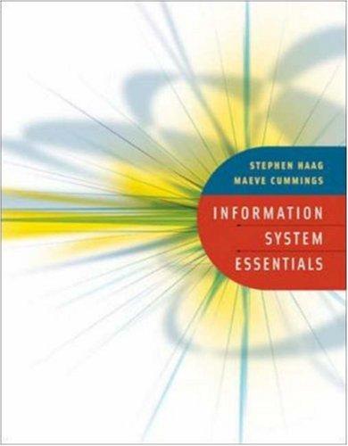 9780073134628: Information Systems Essentials