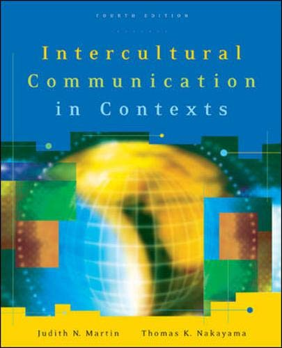 9780073135274: Intercultural Communication in Contexts