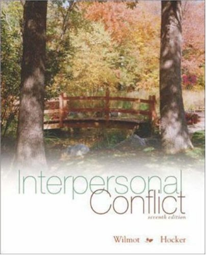 9780073135540: Interpersonal Conflict