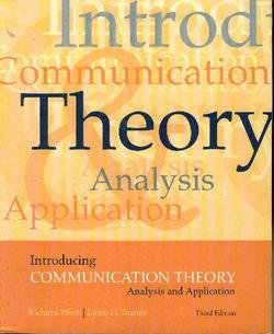Introducing Communication Theory: Analysis and Application: Richard L. West