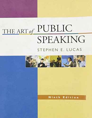 9780073135649: The Art of Public Speaking, 9th Edition