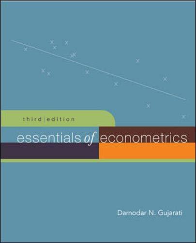 9780073135946: Essentials of Econometrics + Data CD