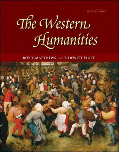 9780073136196: The Western Humanities