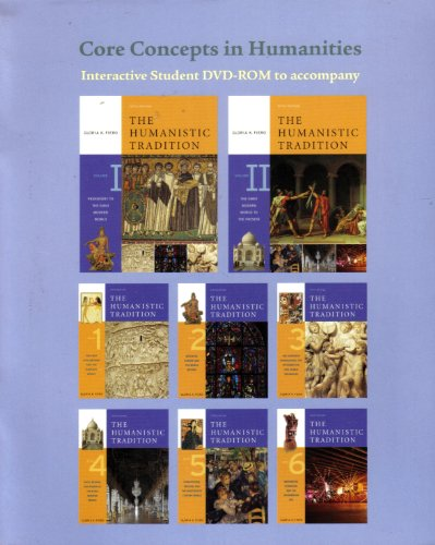 9780073136431: Core Concepts in Humanities DVD-ROM t/a The Humanistic Tradition