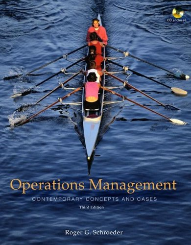 9780073137063: Operations Management: Contemporary Concepts and Cases (The Mcgraw-Hill/Irwin Series Operations and Decision Sciences)