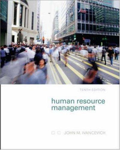 9780073137117: Human Resource Management
