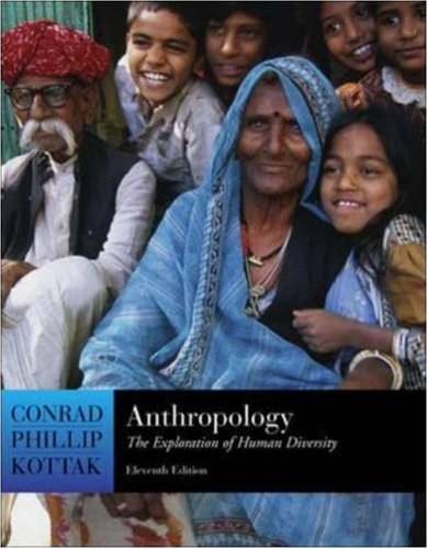 9780073137476: Anthropology: The Exploration of Human Diversity, with Living Anthropology Student CD and PowerWeb