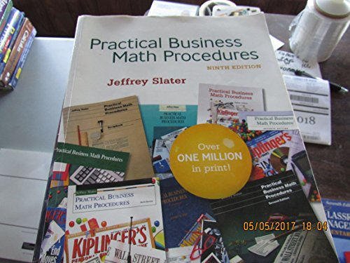 9780073137674: Practical Business Math Procedures
