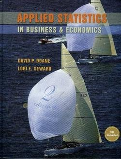 9780073137681: Applied Statistics Bus & Econ