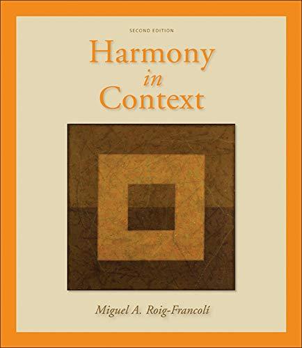 9780073137940: Harmony in Context