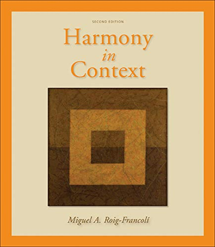 9780073137940: Harmony in Context (B&B Music)