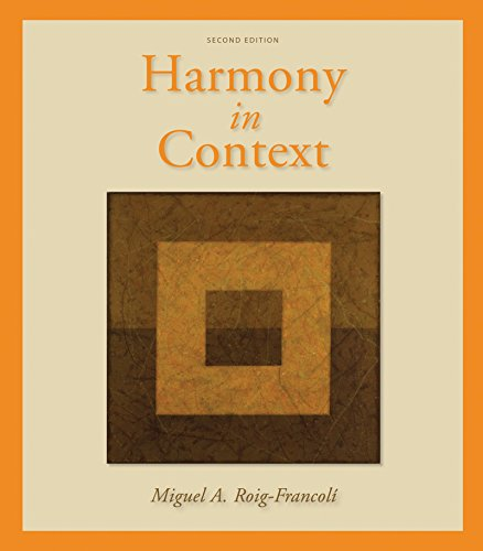 9780073137957: Workbook/Anthology for use with Harmony in Context