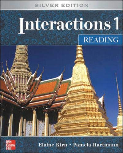 9780073138114: Interactions 1: Reading Student Book, Silver Edition
