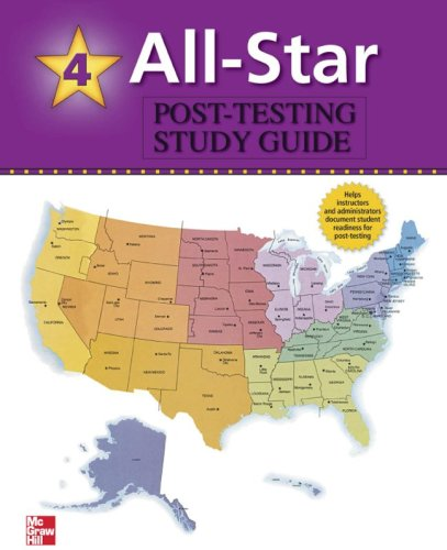 9780073138121: All-Star - Book 4 (High-Intermediate - Low Advanced) - USA Post-Test Study Guide