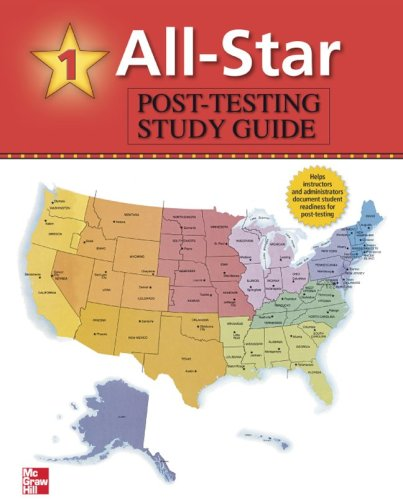 9780073138145: All-Star - Book 1 (Beginning) - USA Post-Test Study Guide