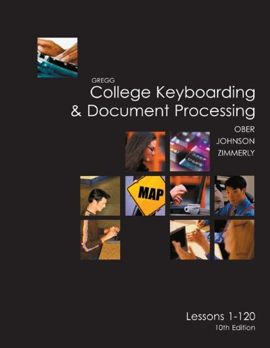 9780073138480: College Keyboarding & Document Processing: Word 2003, Kit 3 Lessons 1-120