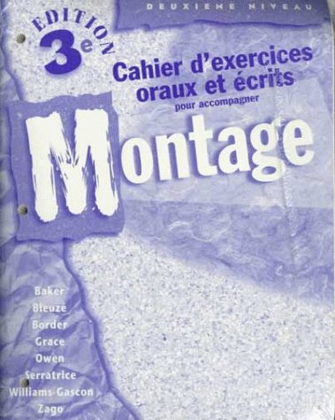 Montage: Text and Workbook (9780073178127) by Lucia F. Baker