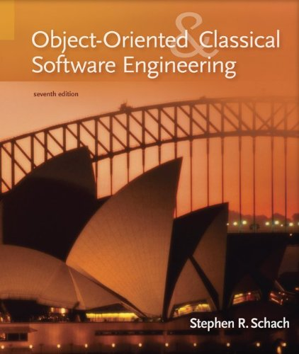 9780073191263: Object-Oriented and Classical Software Engineering