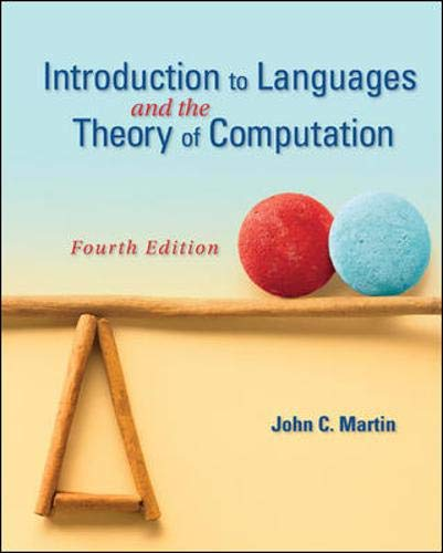 9780073191461: Introduction to Languages and the Theory of Computation