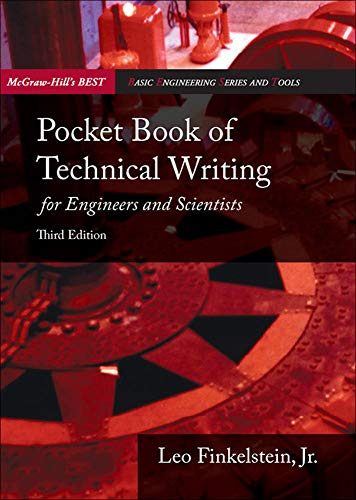 9780073191591: Pocket Book of Technical Writing for Engineers & Scientists (McGraw-Hill's Best: Basic Engineering Series and Tools)