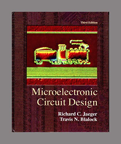 9780073191638: Microelectronic Circuit Design, 3rd Edition