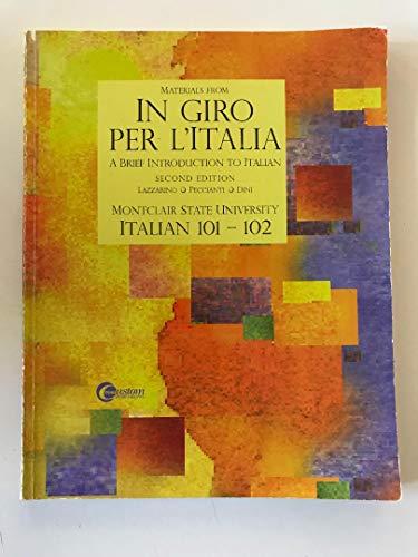 9780073192291: In Giro Per L'Italia: A Brief Introduction to Italian (Italian Edition)