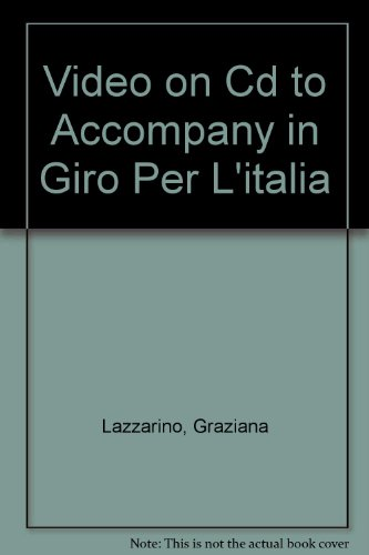 9780073192604: Video on Cd to Accompany in Giro Per L'italia