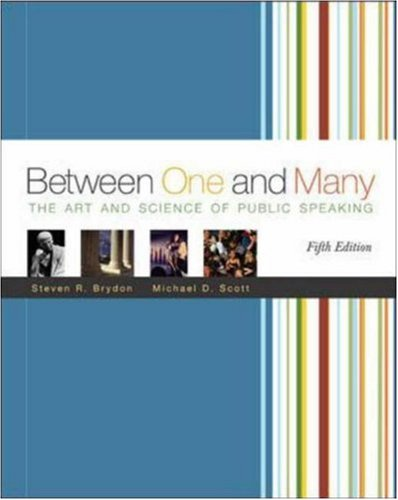 9780073192796: Between One and Many with Speech Coach Student CD-ROM 2.0 and PowerWeb
