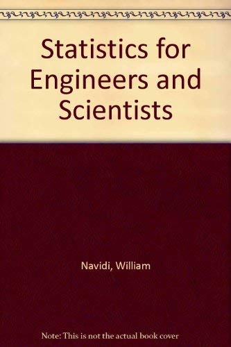 9780073193342: Statistics for Engineers and Scientists