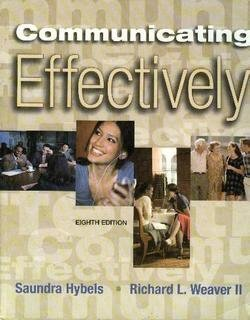 9780073193397: Communicating Effectively: Eighth Edition