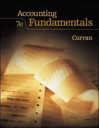 9780073193519: Accounting Fundamentals with Student CD ROM
