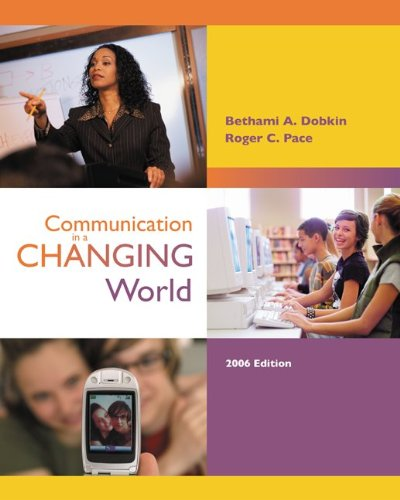 9780073194189: Communication in a Changing World with Student CD-ROM 2.0 and PowerWeb