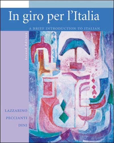9780073194196: In giro per l'Italia Student Edition with Online Learning Center Bind-in Card