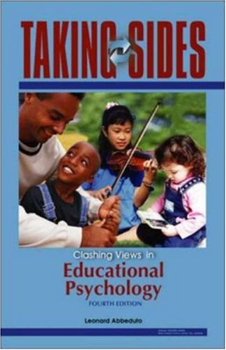 9780073195100: Taking Sides: Clashing Views in Educational Psychology
