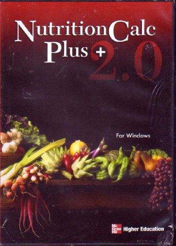 9780073195322: NutritionCalc Plus 2.0 CD-ROM Standalone