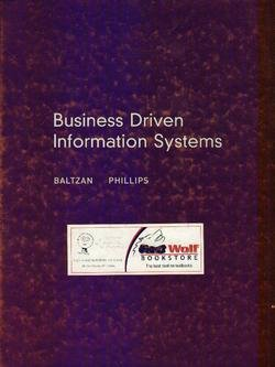 9780073195582: Business Driven Information Systems
