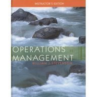 9780073195834: Operations Management (McGraw-Hill/Irwin Series Operations and Decision Sciences)