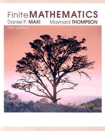 9780073196602: Finite Mathematics, 5th Edition