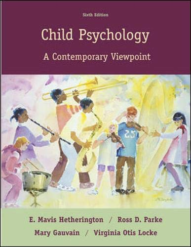 9780073197814: Child Psychology: A Contemporary Viewpoint