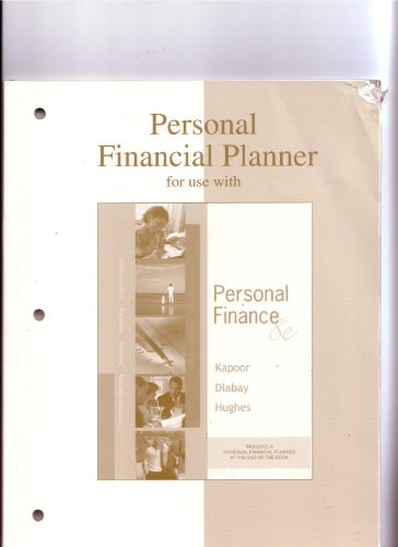 9780073199535: Personal Financial Planner