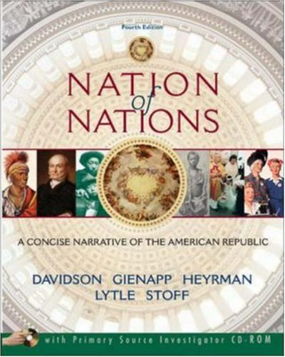 9780073201924: Nation of Nations: A Concise Narrative of the American Republic