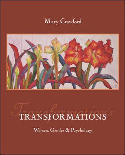9780073201955: Transformations: Women, Gender, and Psychology with Sex & Gender Online Workbook
