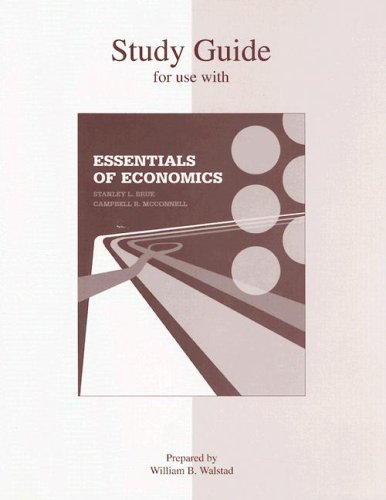 9780073202631: Study Guide to accompany Essentials of Economics