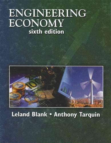 9780073205342: Engineering Economy (McGraw-Hill Series in Industrial Engineering and Management)