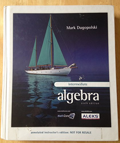 9780073206172: Annotated Instructors Edition Intermediate Algebra