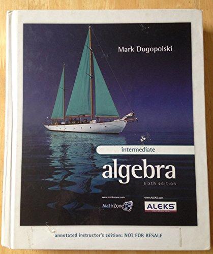 9780073206172: Annotated Instructors Edition Intermediate Algebra