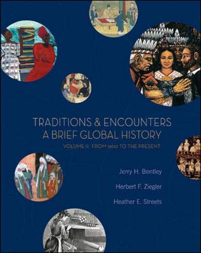 9780073207032: Traditions & Encounters: A Brief Global History, Volume II